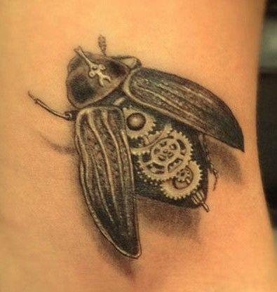 Biomechanical Tattoo Fly  Tattooimagesbiz